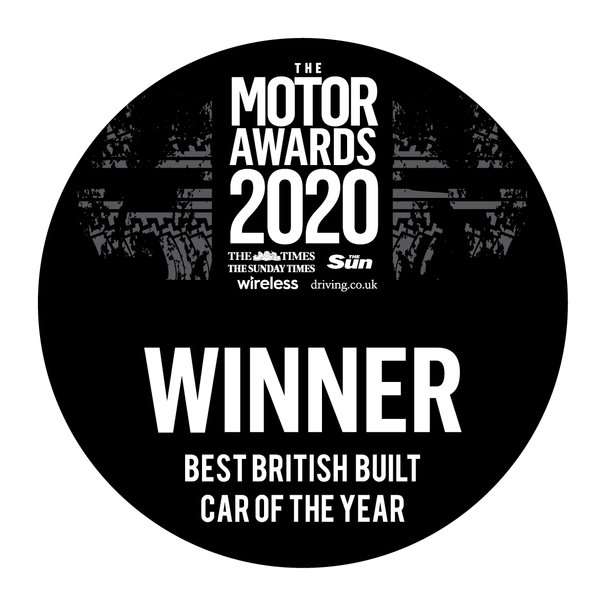 winners motor awards logo 2020